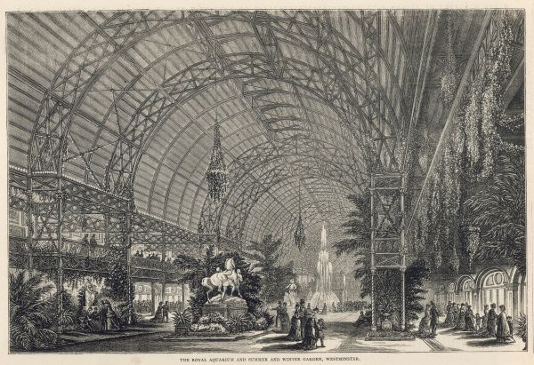 The Royal Aquarium, and Summer and Winter Garden, Westminster