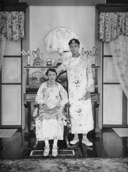 A Royal Couple from Siam (Thailand)