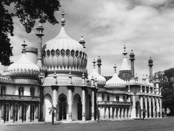The exterior of the Royal Pavilion at Brighton