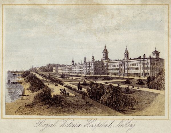 ROYAL VICTORIA HOSPITAL At Netley, near Southampton Date: C.1860