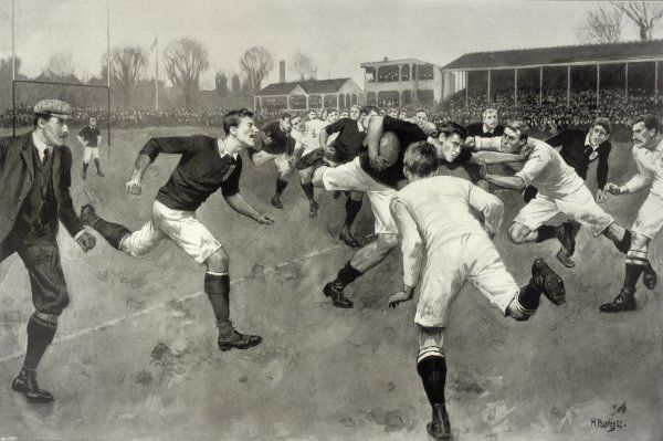 England versus Ireland at Richmond Date: 1898