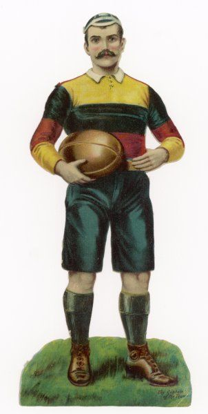 A RUGBY FOOTBALLER