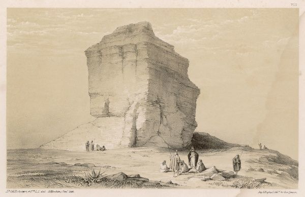 Ruins of Akkad (formerly known as Accad) in Mesopotamia