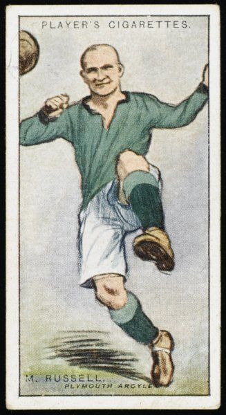 Moses Russell, player for Plymouth Argyle and Wales