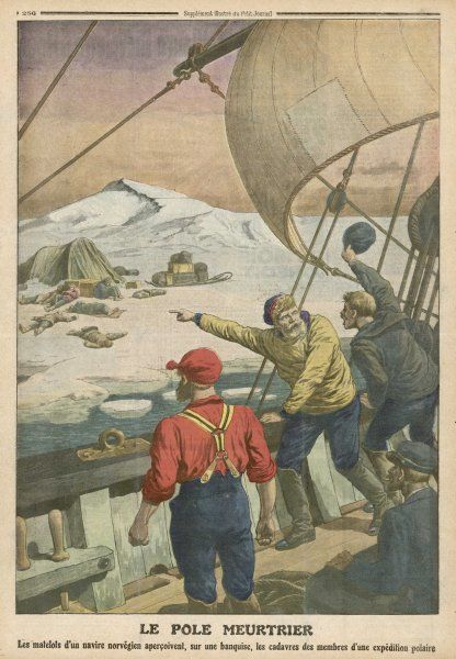 Norwegian sailors find the bodies of Russian explorers in the Arctic Circle