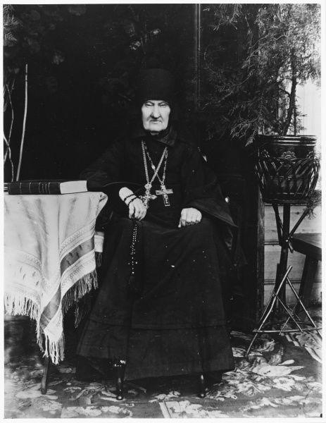 The Russian Orthodox dean of Uspenksy Convent