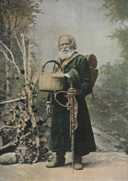 A Russian pilgrim : peasants are liable to take off on pilgrimages at any excuse - a celebration, a bereavement, any excuse will do