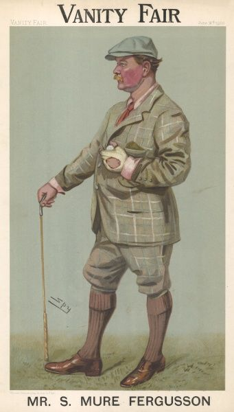 S. Mure Fergusson. Distinguished amateur golfer, twice runner-up in the Amateur Championship and winner of innumerable medals