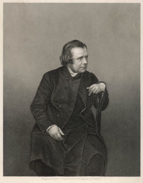 SAMUEL WILBERFORCE Bishop of Oxford and of Winchester, noted opponent of Darwin's theory of natural selection