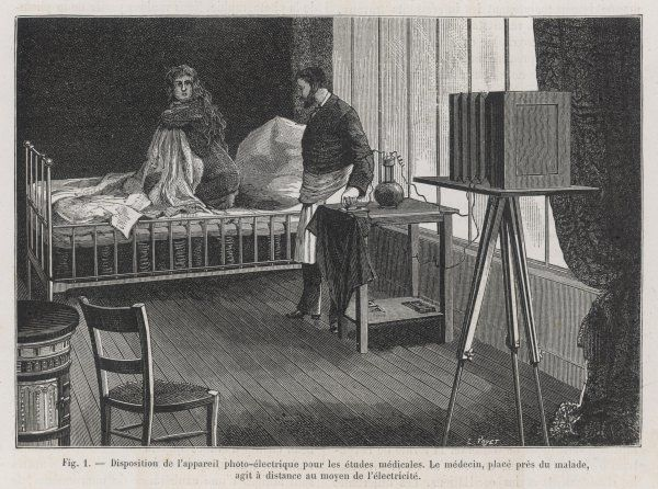 PHOTOGRAPHING THE PATIENT At La Salpetriere hospital, Paris, doctors working with Charcot obtain photographic documentation of hysteria patients in various states