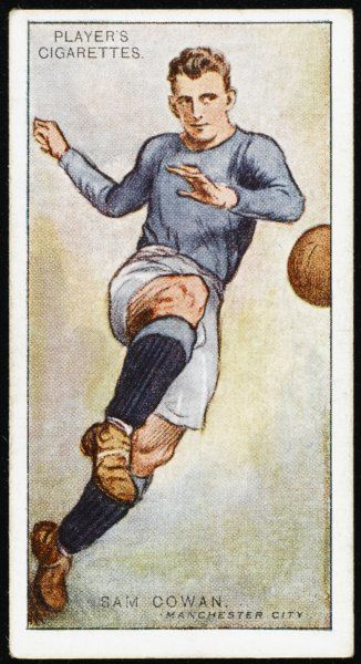 Sam Cowan, player for Manchester City and England
