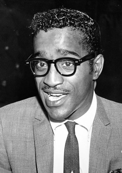 Photographic portrait of Sammy Davis Jnr. (1925-1990), the American singer and entertainer