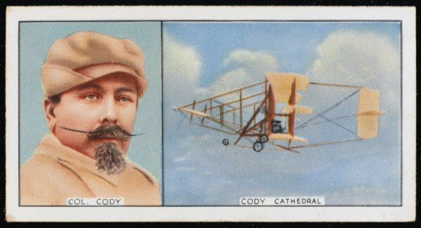 Samuel Franklin Cody, Texan aviator, and his Cody Cathedral: he made the first British flight in 1908