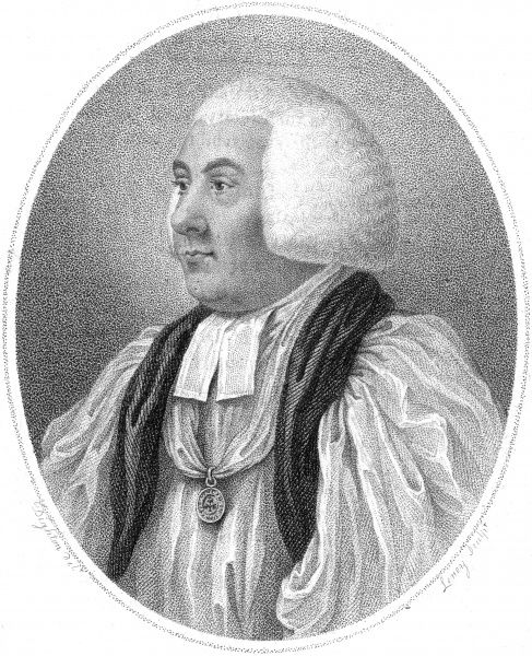 SAMUEL HORSLEY Lord Bishop of Saint Asaph, Wales. Date: 1733 - 1806