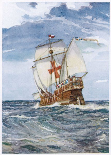 Columbus's caravel, formerly the 'Marigalante&#39