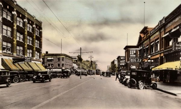 Second Avenue North, Saskatoon, Saskatchewan, Canada Date: 1900s