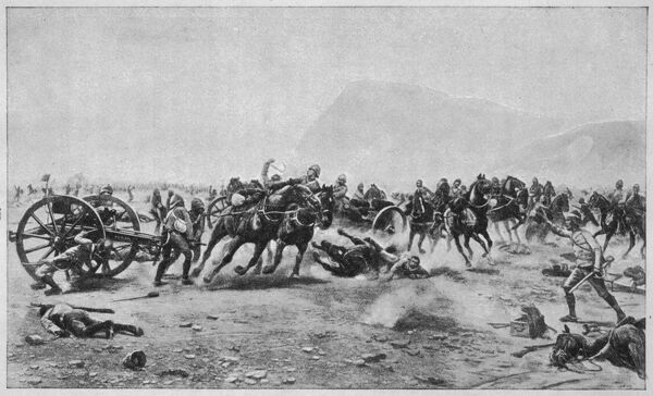 BATTLE OF MAIWAND Saving the guns : though the British force was defeated by the Afghans, they were able to retreat to Kandahar in relatively good order