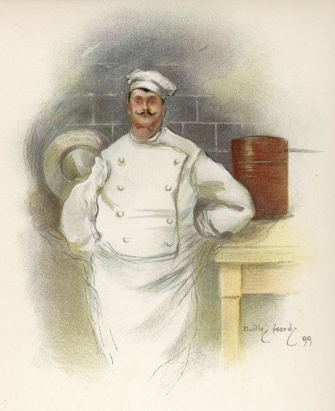 The head chef at the Savoy Hotel