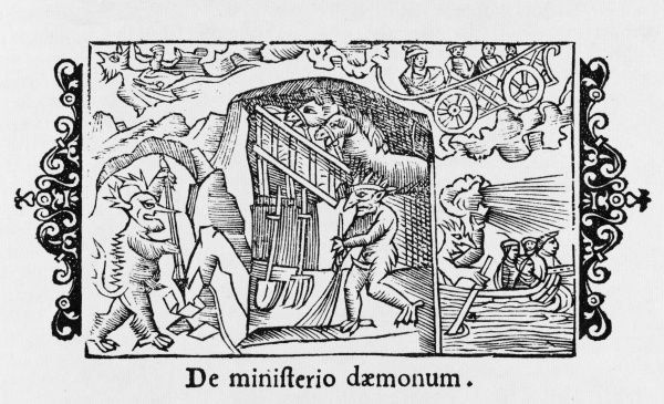 In Scandinavia, the demons are well-disposed, and if treated well will do useful jobs about the house, in the mines, and helping travellers