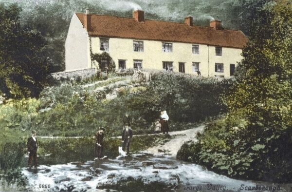 Scarborough, North Yorkshire - Forge Valley Date: circa 1910s