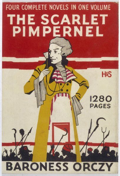 Cover of Baroness Orczy's 'Scarlet Pimpernel&#39