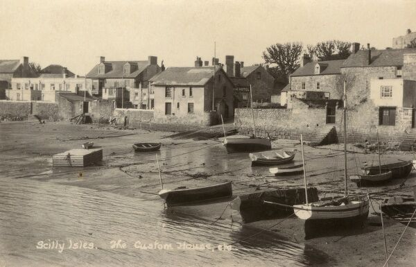Scilly Isles - St Marys - The Custom House Date: circa 1910s
