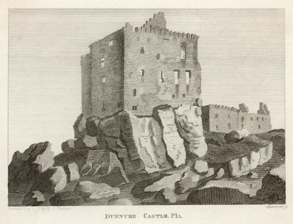 View of Dunure Castle