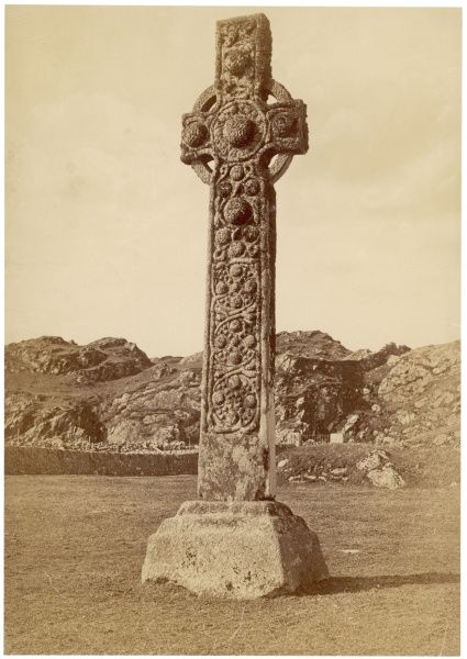 St Martin's Cross on the Isle of Iona