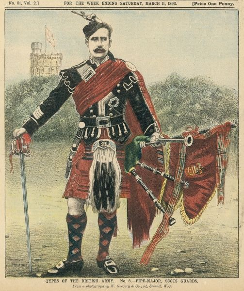 Pipe Major, Scots Guards