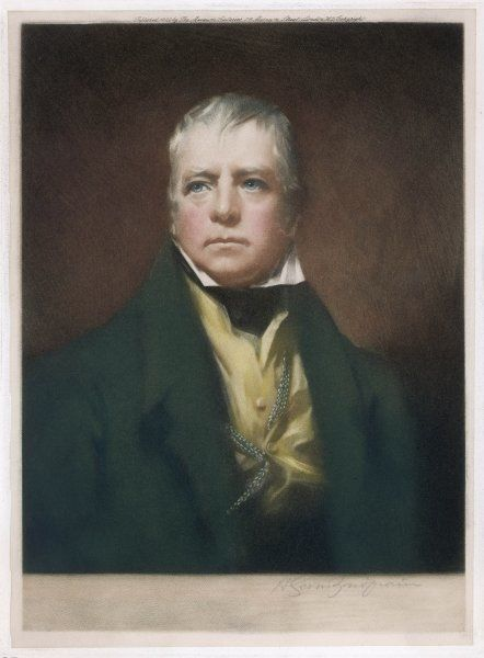 SIR WALTER SCOTT Scottish writer