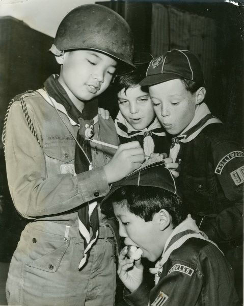 Willie Chun, who's 12 years old and an American of Korean parentage, is a Patrol Leader of Boy Scout Troop 90 in Hollywood
