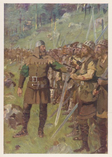 At Sempach Arnold of Winkelried defeats the Austrians of Duke Leopold