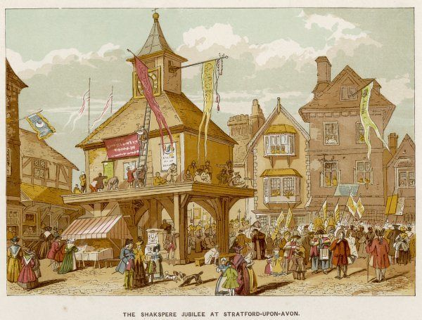 The Shakespeare Jubilee at Stratford-Upon-Avon