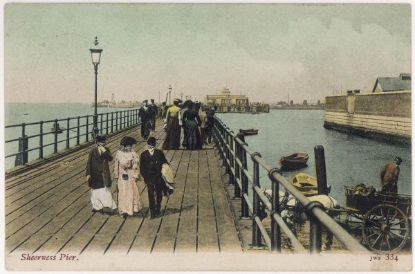 Sheerness, Kent: the pier