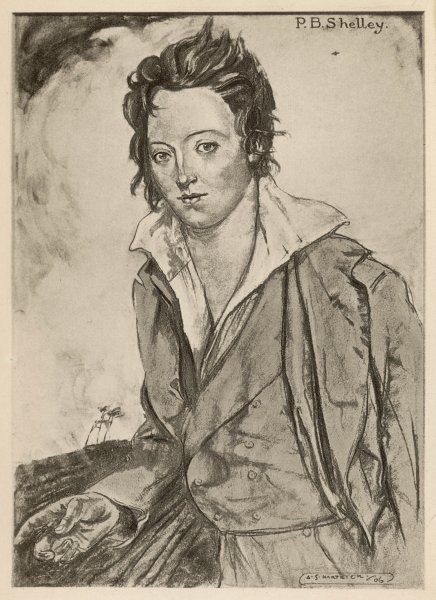 PERCY BYSSHE SHELLEY writer