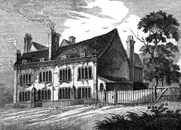 PERCY BYSSHE SHELLEY English poet's cottage at Great Marlow, Bucks Date: 1792 - 1822