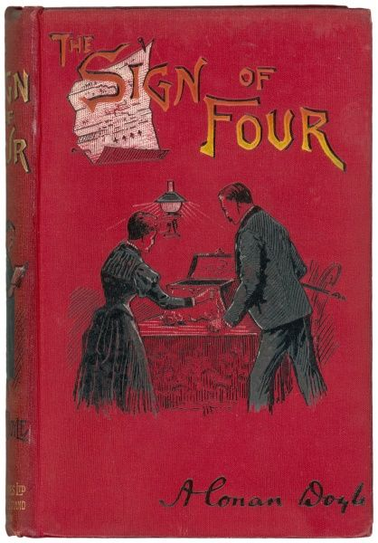 THE SIGN OF FOUR Cover illustration