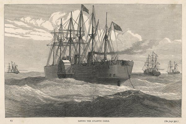 Laying the Atlantic Cable