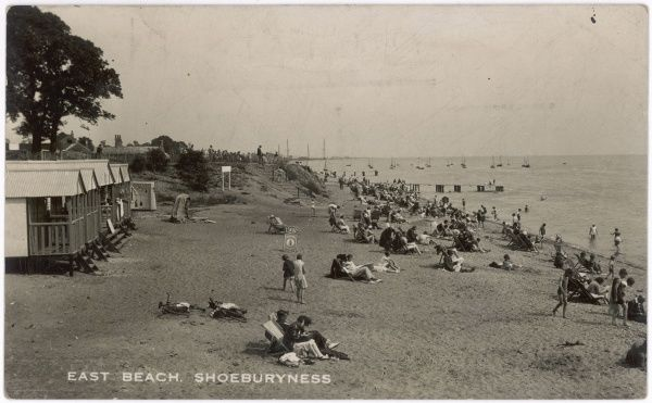 Shoeburyness, Essex: East Beach