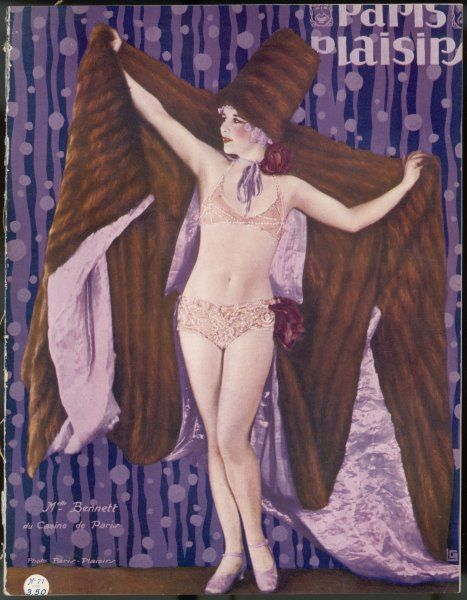 Mademoiselle Bennett. Showgirl of the Casino de Paris