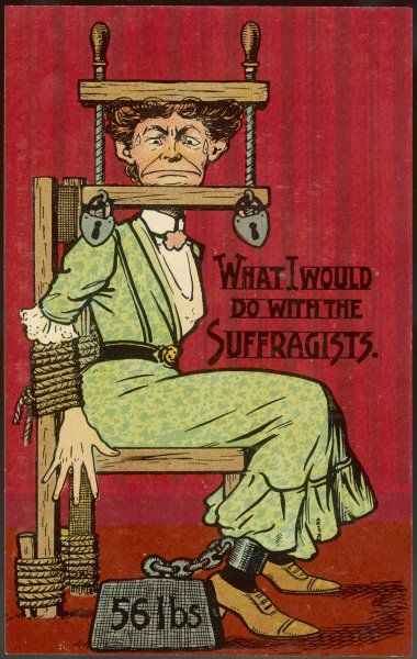 'What I would do with the Suffragists' a somewhat unsympathetic approach to the problem of women's rights