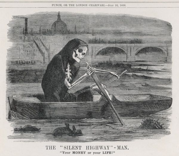 Death - 'The Silent Highway-Man' of the polluted River Thames