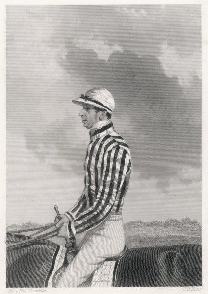 Simon Templeman, the celebrated jockey