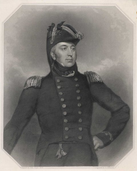 SIR GEORGE COCKBURN British naval officer. Commanded forces in War of 1812 during capture of Washington, D.C (1814)