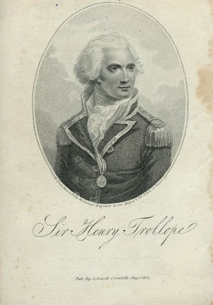 Sir Henry Trollope, British admiral (1756 - 1839) Date