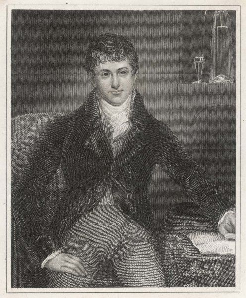 SIR HUMPHRY DAVY (1778-1829), scientist and President of the Royal Society, London, England