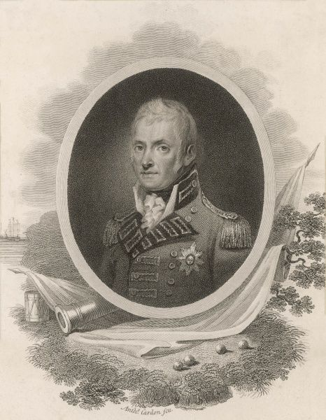 SIR JOHN HOPE 4TH EARL OF HOPETOUN British commander in the Peninsula War, the Walcheren Expedition and in France