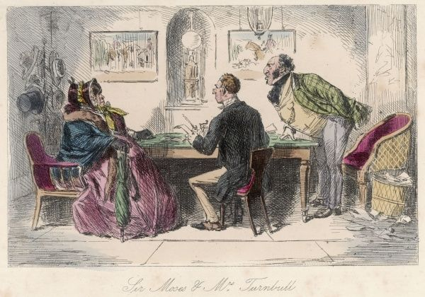 or 'The Richest Commoner in England'; Sir Moses & Mr. Turnbull