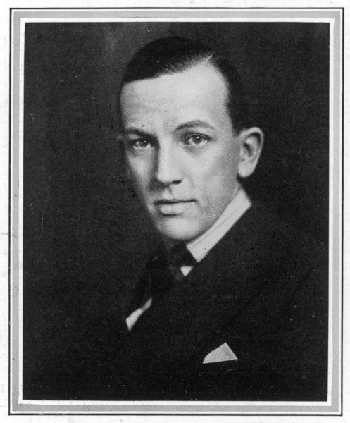 Photographic portrait of Sir Noel Peirce Coward, the English actor, playwright and composer, pictured in 1924