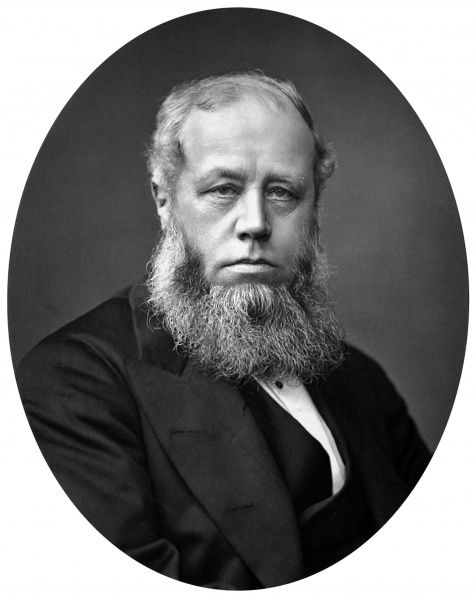 Photographic portrait of Sir Richard Baggallay (1816-1888), then Judge of the Supreme Court of Appeal, c.1876